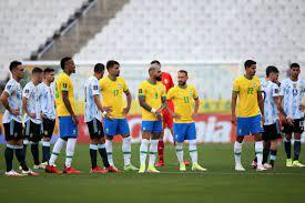 """بلاد الفضة on Twitter: """"365   إحتمالات قرار FIFA حول مباراة البرازيل ضد  الأرجنتين : 🟢🟡 : 3-0 للبرازيل، الأرجنتين منسحبة. 🔵⚪️ : 3-0 للأرجنتين، لم  يتمكن المنتخب المضيف من حماية المباراة."""