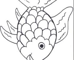 Small Picture Rainbow Fish Coloring Page Coloring Book of Coloring Page