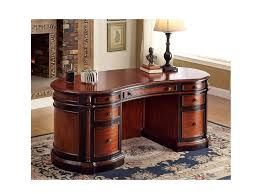 the oval office desk. Strandburg Cherry/Black Oval Office Desk The Oval Office Desk