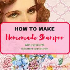 easy homemade shampoo return to homepage