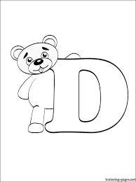 I need an alphabet coloring kid who can do a good job. Letter D Coloring Pages Gallery Whitesbelfast