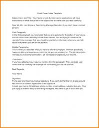 Email Cover Letter Subject Line 047 Template Ideas Email Cover Letter Templates Subject Line