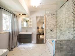 Bathroom Remodeling Tips Modern Large Bathroom Remodel Bathtub Regarding Remodeling