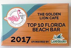 rb27268 carved cedar wood plaque is for a florida beach bar award with flamingo