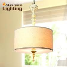 white linen drum shade pendant large chandelier good