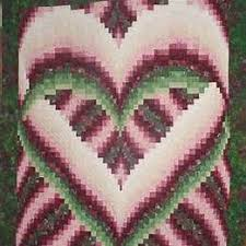 82 best Barello images on Pinterest | Quilting patterns, Zippers ... & Free Bargello Heart Pattern Adamdwight.com