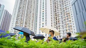 Running Red Light Hong Kong Property And Protest The Turmoil In Hong Kong Stems In