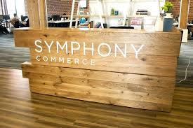 wood reception desk wood reception desk reclaimed wood reception desk google search whats old is new wood reception desk