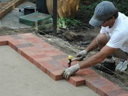 Brick Patterns For Patios How To Lay A Brick Paver Patio How Tos Diy