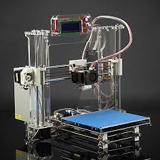 aurora z605s newest reprap prusa i3 3d printer three dimensional print diy kit with lcd