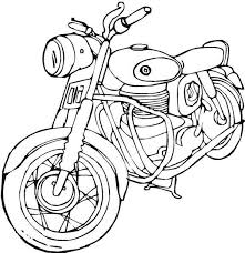 Coloring Pages Of Harley Davidson Motorcycles At Getdrawingscom