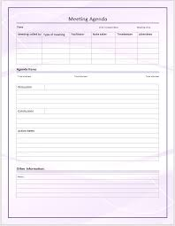 Microsoft Office Tamplates 5 Free Meeting Agenda Templates Office Templates