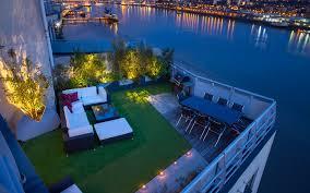 rooftop lighting. Modern Roof Terrace Lighting Designers London Rooftop H