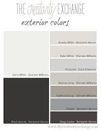 Benjamin Moore Exterior Paint Color Chart Tricks For Choosing Exterior Paint Colors