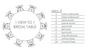 round table wedding seating chart template reception tables purple white and sil