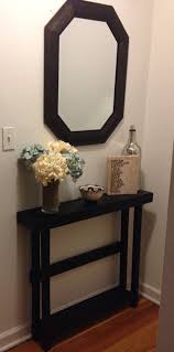 small entry table. I Love How Skinny This Table Is. Our Entry Way Needs A Super Since Door Would Hit It Otherwise Small N