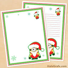 Printable Christmas Stationery Templates Stationary Template Free