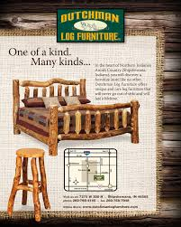 Dutchman Log Furniture Branding Campaign David George and Associates