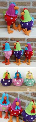 Crochet Chicken Pattern Interesting Decoration