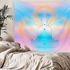 imandale psychedelic chakra wall