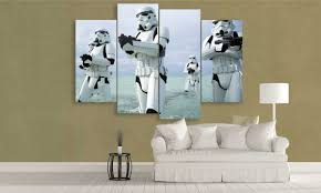 star wars canvas of clonetroopers panelwallart 4 panel stormtroopers canvas wall art panelwallart  on star wars canvas panel wall art with star wars canvas art a must have fandom experience panel wall art