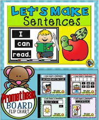 Making Sentences Promethean Board Flip Chart