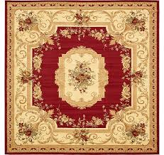unique loom 10 x 10 versailles square rug