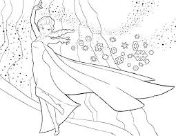 Disney Princess Frozen Coloring Pages Queen Elsa Anna Book Games
