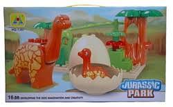 Классический <b>конструктор Hongyuansheng</b> Jurassic Park HG-1387