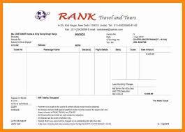 Travels Bill Book Format Travel Bill Template Theitfactor Info