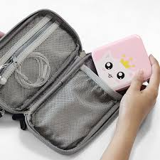 Travel Digital Cable Bag Portable Universal Cable Organizer Case ...