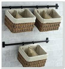 superb hanging storage baskets wall hanging storage wall mount storage baskets wall storage units with baskets