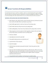 Training Manual Template Restaurant Training Manual Templates