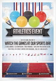 Best Sport Flyer Templates Wakaboom Sports Event Flyer Template