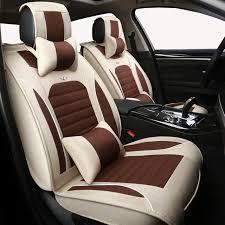 high quality linen universal car seat covers for honda accord fit city crv civic toyota rav4