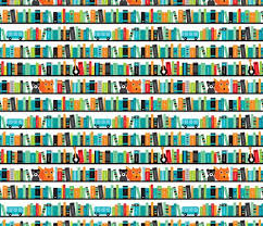 book wallpaper pattern