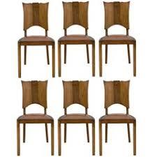 vintage italian barcelona style dining. Art Deco Dining Room Chairs Vintage Italian Barcelona Style T