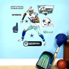 sports themed wall decor border cowboys football borders bedroom small images of alabama fo