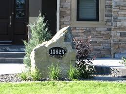 Yard Design Address Signs Elite Personalized Address Yard Signs At The Slate Design