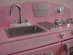 kidkraft pink retro kitchen youtube