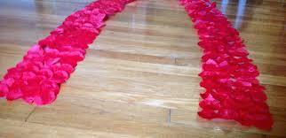 rose petal aisle runner red two rose petal aisle runner diy silk rose petal aisle runner