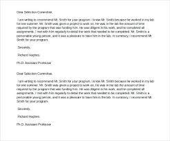 Friend Recommendation Letters Doc Free Premium Templates