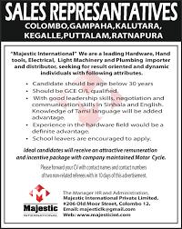 s representatives majestc jobs vacancies in sri lanka top best job site in sri lanka cv lk