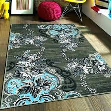teal and black area rug teal grey area rug grey and e rug rugs blue gray