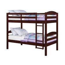 Bunk Bed Mainstays Twin Twin Wood Bunk Bed Walmartca