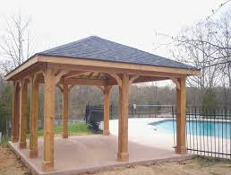 Free Standing Patio Roof Plans Patio Designs