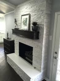 white stone fireplace fireplace makeover crystal white interlocking ledger panel stone veneer fireplace white mantle white stone fireplace