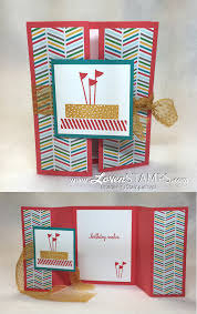 fold card fun folds made simple double gate fold card tutorial lovenstamps