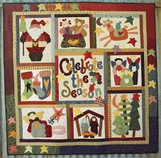 117 best Christmas Quilts images on Pinterest | Quilting ideas ... & great quilt kit- put together and have a great seasonal quilt Adamdwight.com