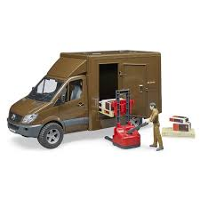 Набор <b>игрушек Bruder Mercedes-Benz Sprinter</b> UPS 02-538